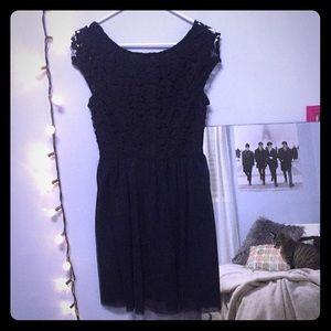 Navy blue ruby rox dress. Size 7.
